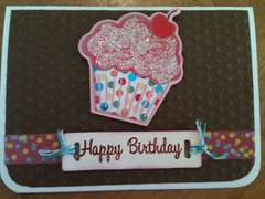 Cricut Cupcake Card