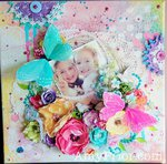 Mothers Day Mixed Media Canvas for Nanna