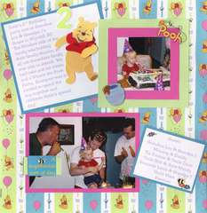 Turning 2 with Pooh