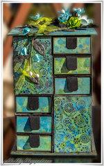 Advent Calender Blue-Green - Green Tara DT