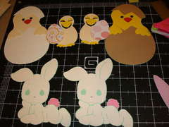 March Easter and St. Patty's Die Cut Swap