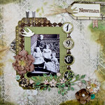 Newman ~Blue Fern Studios May Challenge~ Scraps of Darkness