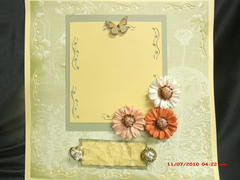 Beautiful Butterfly 12x12 layout