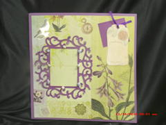 Purple Passion premade 12x12 pages