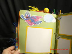 Sesame Street paperbag mini album