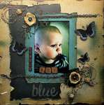 Little Boy Blue ~SWIRLYDOOS KIT CLUB~