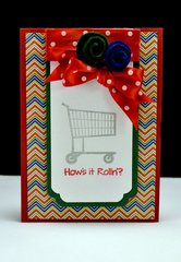 How's It Rollin' Card - Hampton Art