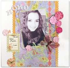 Katelyn at fourteen