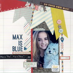 Max is Blue