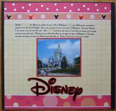 Disney Cover Page