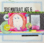 Self Prtrait, Age 6