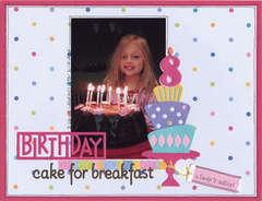 Birthday Cake for Breakfast