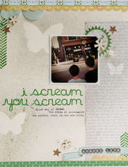 i scream you scream **new studio calico memoir**