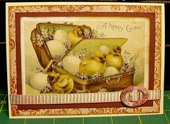 Vintage Easter card 2014
