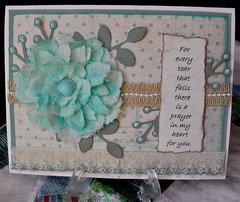 Sympathy card for dear friend