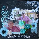 White Feather ~ The Paper Mixing Bowl January 2013 Recipe Challenge