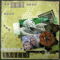 If God Will Send His Angels ~ The Paper Mixing Bowl March 2013 Recipe Challenge