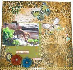 ~Scraps of Darkness~ Welcome to the Jungle June Kit