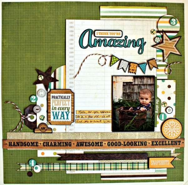 You Re Amazing: Layout: I Think You're Amazing