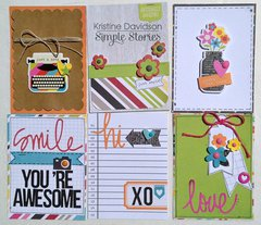 Filler Cards * Simple Stories *