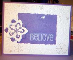 Snowy Believe