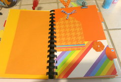 Rainbow Junk Journal/Smash Book