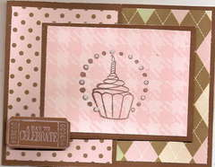 joy fold birthday card for the august sketch challenge