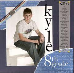Kyle 8th grade
