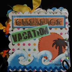 Summer Vacation mini album *rusty pickle