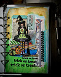 Trick or Treat (Art Journal Planner Page)