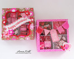 Valentine Treat Boxes *Doodlebug*