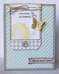 believe in yourself card