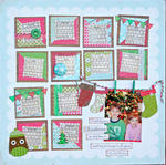 *SRM* Honor Christmas in my heart layout