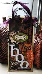 Owl Boo Sign