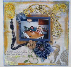 Happy Birthday, for the Scraps of Darkness Scraps of Elegance September  Inspiration board challenge
