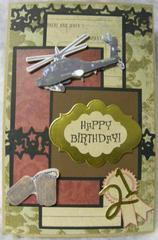 21st BD Card for a new E5 / Gallery Inspiration #7 Card