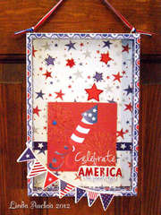 Celebrate America the Beautiful Shadowbox
