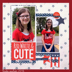 *Red, White & Cute*