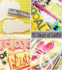 Basically Bare's Polly Pocket's Booklet -- 30 Days of Lists