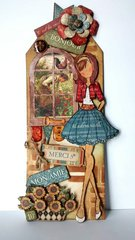 Graphic 45 & Julie Nutting Doll Tag