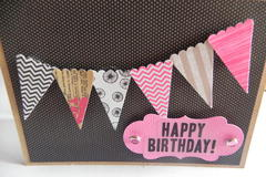 Happy Birthday - Banner Card