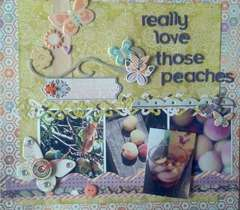 really love those peaches