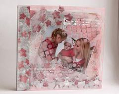 Winter Mini Album **Maja Design** and Clear Scraps