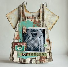 Baby Boy Mini Album **Scraps of Darkness** and Clear Scraps