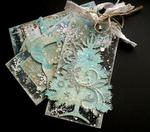 A Christmas Tags Set **Clear Scraps** and **2Crafty Chipboard**