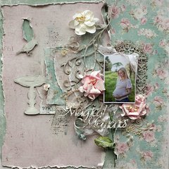 Magical Memories **Maja Design** and **2Crafty Chipboard**