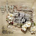 While Angels Rest **2Crafty Chipboard and Manor House Creations**