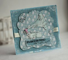 Gramaphone Card **Maja Design**