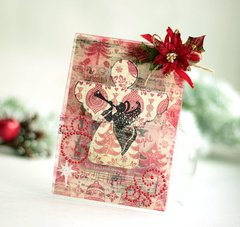 Angel Card **Clear Scraps**