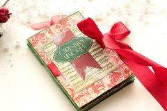 Christmas Mini Album **Swirlydoos December Kit**